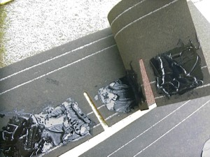 DIY 物置 屋根