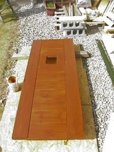 物置 DIY 手作りドア