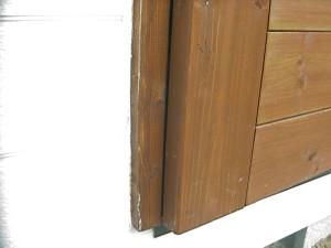 物置 DIY ドア