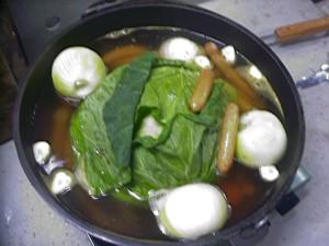 ダッチオーブン 野菜スープ